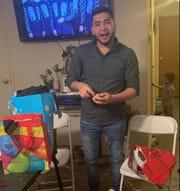 Jose Munoz, 25, of Sellersburg, Indiana, was shot and killed inside a Louisville Olive Garden restaurant on Saturday, Feb. 23, 2019.