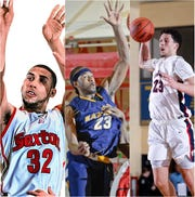Denzel Valentine (left), LaDontae Henton (middle) and Brandon Johns were each Mr. Basketball finalists as seniors.