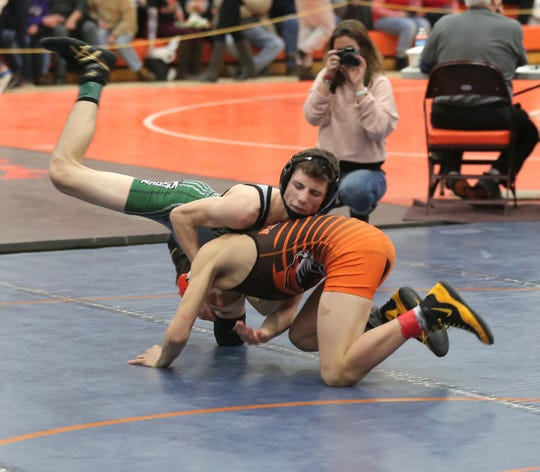 Madison's Adam Cook, shown here in the 2018 J.C. Gorman Invitational, won a Division I sectional title Saturday in Marysville.