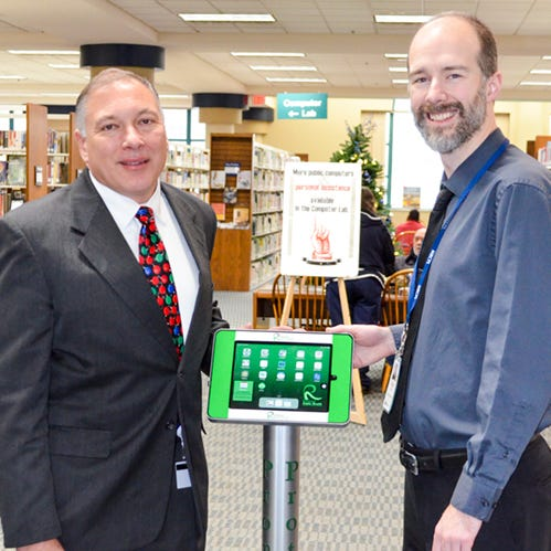 Libraries offer free health information at kiosks