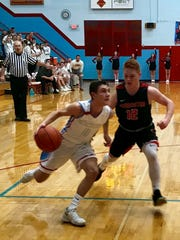Ridgedale knocked off Cardington 56-46 in a Division IV boys basketball sectional semifinal game Monday night at Ridgedale.