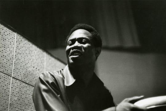 Sam Moore at Stax, 1968.