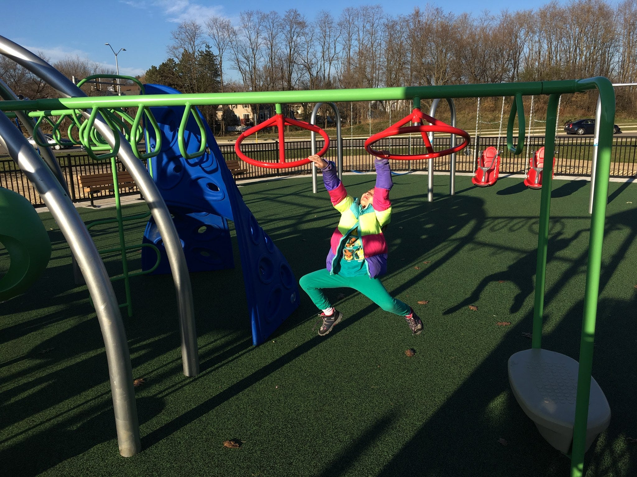 The Elver Park all-inclusive playground in Madison opened in 2018.