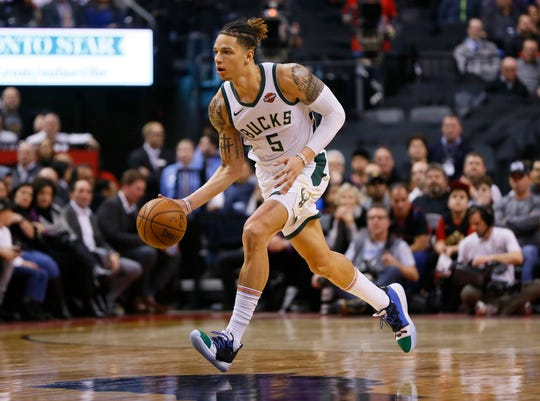 """Forward D.J. Wilson and the Bucks are partnering with the Sacramento Kings on an event called """"Team Up for Change,"""" a daylong summit aimed to address social injustice in both cities and in the country at large."""