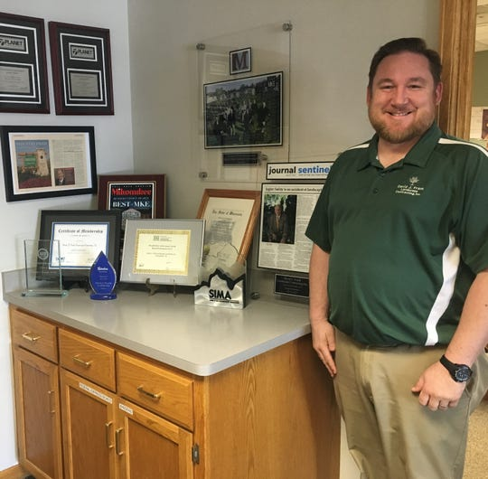 David R. Frank, David J.'s oldest son, plans to continue his father's work as the president/chief financial officer of David J. Frank Landscaping Contracting.