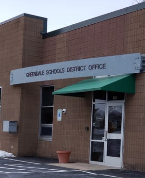 The Greendale Schools District Office, 6801 Southway, Greendale.