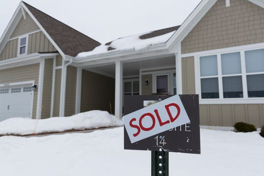 A home on James Circle that is part of the The Glen at Cedar Creek development in Cedarburg had a sold sign out front last month. The development is just south of Highway 60 and east of Sheboygan Road.