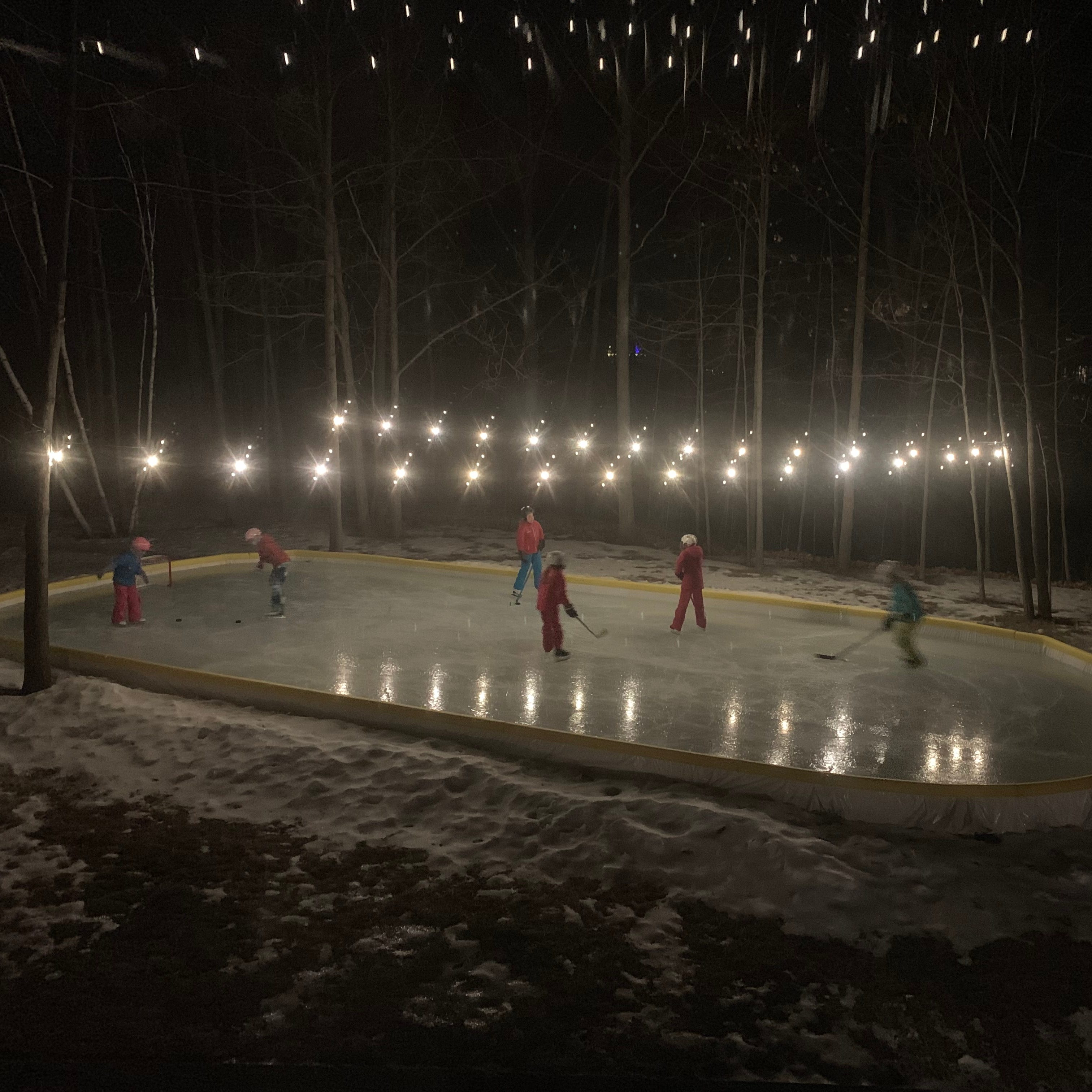 Not everyone is sick of winter — in Wisconsin, backyard ice rinks make cold weather worth it
