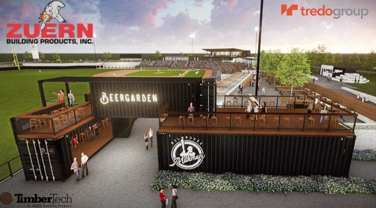 Zuern Building Products is among three area companies that are sponsors at Routine Field, a new ballpark being developed in Franklin for the Milwaukee Milkmen. The ballpark will include the Zuern Deck.