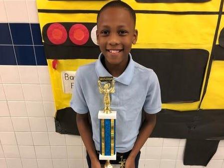 Barkdull Faulk Elementary Name: Jamaiya Burgess Grade: 4 Parent: Shekia Burgess Favorite word: mathematics Winning word: Venus