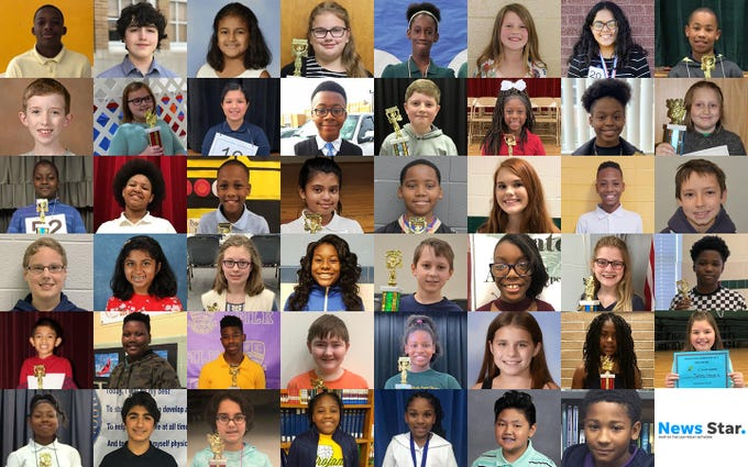 These students will represent their schools at the All-Parish Spelling Bee on March 1. The winner will move on to the Scripps National Spelling Bee, which will take place May 28-30 in National Harbor, Maryland. The local event is sponsored by Ouachita Parish Schools, Monroe City Schools, Origin Bank and The News-Star.