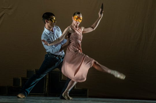 The Montgomery Ballet presents The Masks We Wear on Sunday, Feb. 24, 2019, at Greenville High School in Greenville, Ala.