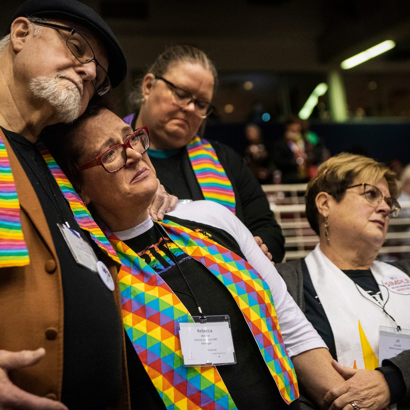 United Methodist Church votes to keep ban on same-sex weddings, gay clergy