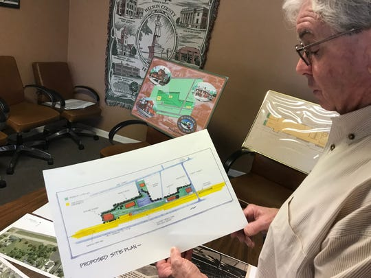 John Jewell is with Historic Watertown, which has acquired a railroad turntable that will allow for a steam engine train that is being renovated to turn around. The city also hopes it can create a railroad museum around the turntable.