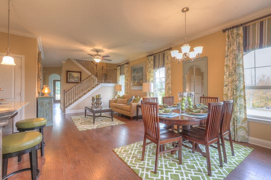 Goodall's Cottages of Valleybrook offers one-level living with an optional bonus room upstairs.