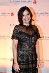 Honoree Sally Williams poses on the red carpet at the TJ Martell 11th annual Nashville Honors Gala on Feb. 25.