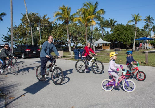 A 5K bicycling event allows parents and children alike to ride at this year's TD Bank Naples Bike Brunch on Sunday at Fleischmann Park. In its 13th year, the cycling event offers specific biking heats for every fitness level.