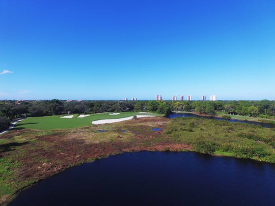 Bonita Bay Club's new 2.5-acre short-game practice area on the Creekside Course is planned for this summer.