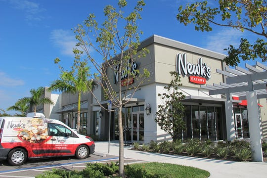 The area's first Newk's Eatery opened Monday in North Naples.