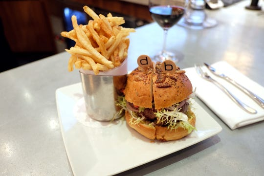 db Burger at db Bistro Moderne in NYC