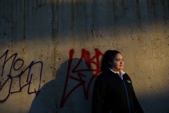 Paterson teen Samantha DeJesus finds beauty through a photography course run by Oasis in Paterson on Thursday February 21, 2019.
