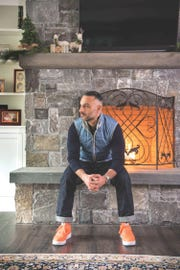 Darren Magarro poses for a photo at his home in Franklin Lakes on Wednesday January 9, 2019 for the personal style section of (201) Magazine.