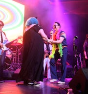 Patrick Wilson performs at the Montclair Film 70s Mixtape Party with the Losers Lounge at The Wellmont Theatre., February 2018.