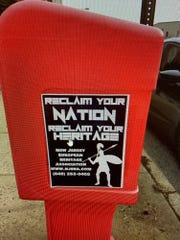 Fliers promoting a white nationalist group have been seen all over downtown Bloomfield.