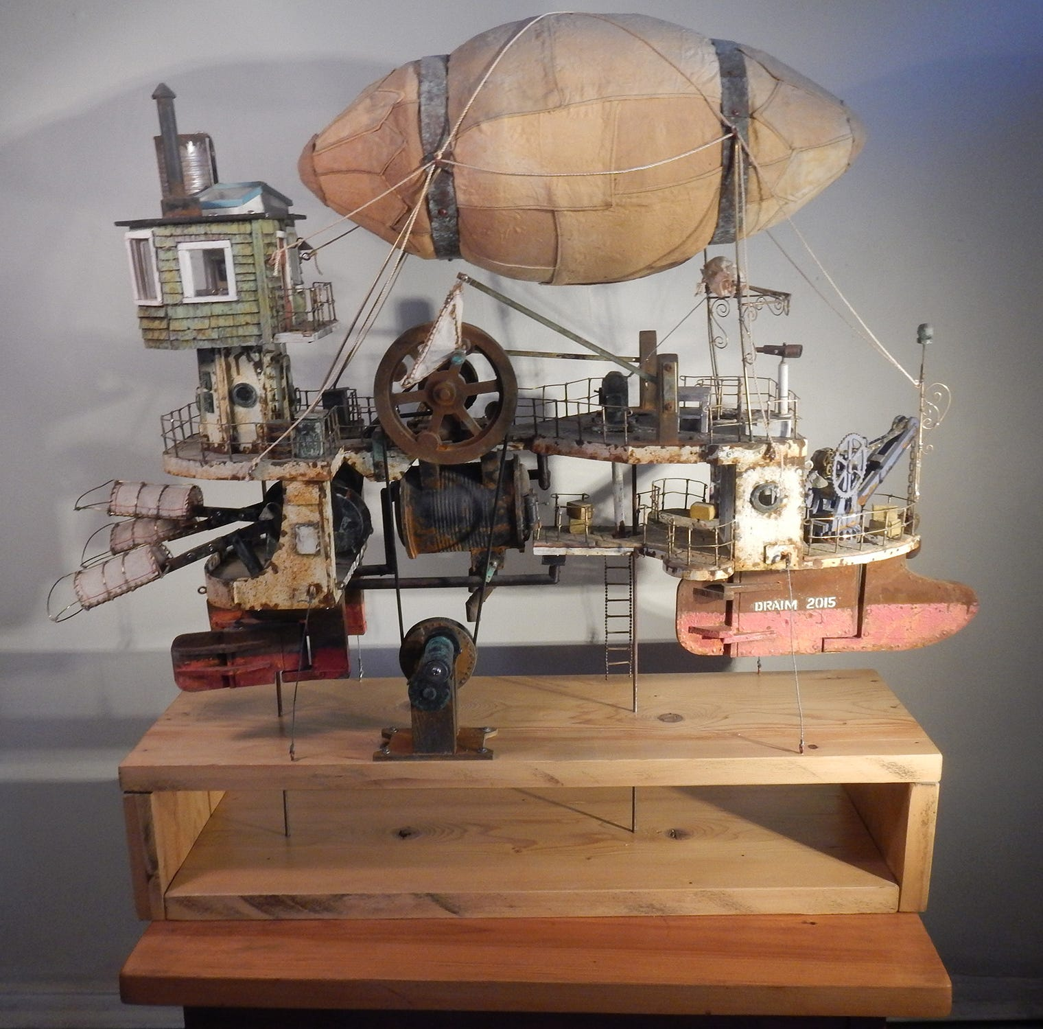 A sculpture exhibit, in steampunk style, makes Morris Museum a champion of kinetic art