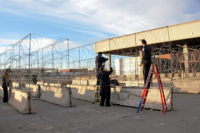 To ensure the safety of its ports of entry in El Paso, CBP has taken measure to harden their POEs.