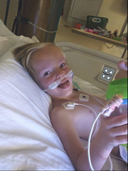 Timothy Page, 5, of Las Cruces, is recovering in an Albuquerque hospital after facing a life-threatening situation Friday, Feb. 22, 2019.