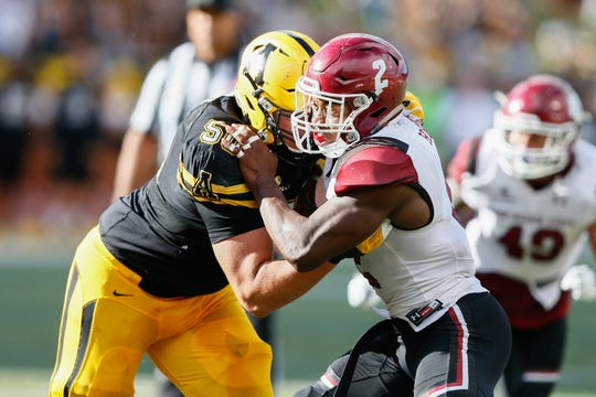 Former New Mexico State linebacker Terrill Hanks will be one of 37 linebackers at this weekend's NFL Scouting Combine in Indianapolis