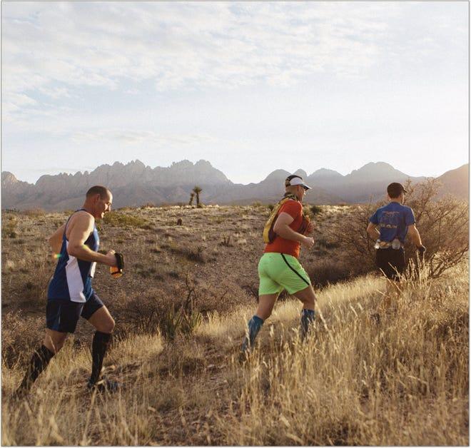 Runners participate in the Sierra Vista Trail Runs.