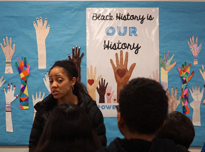 The forum took place at Farmington Hills' Powers Middle School.