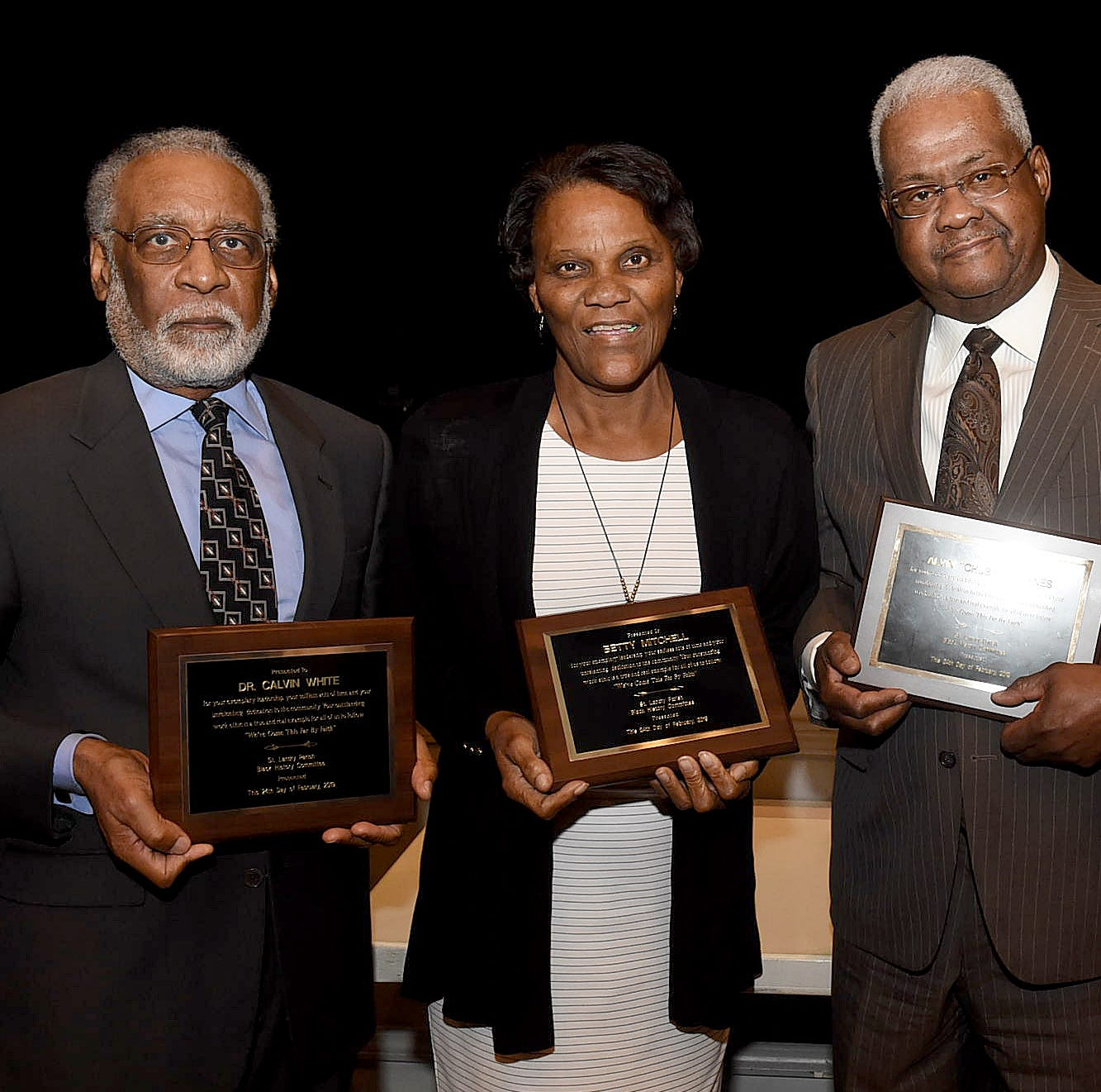 Four honored by St. Landry Black History Committee