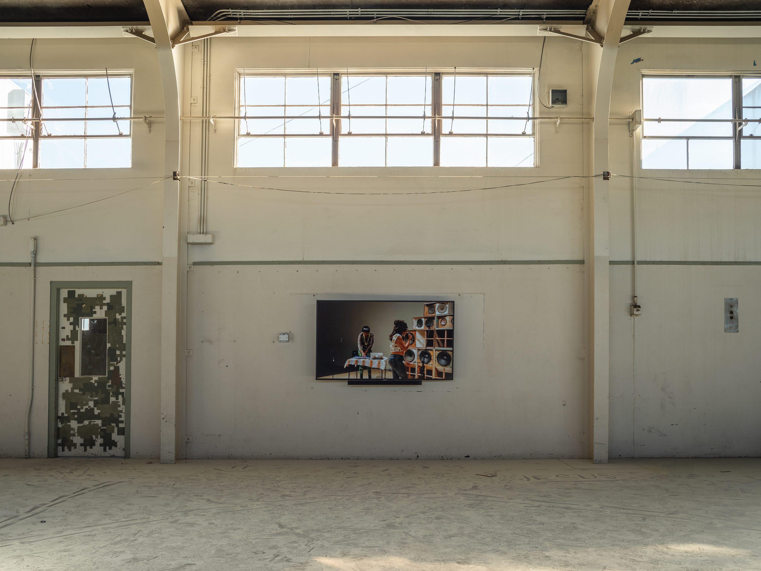 """""""Recapturing Memories of the Black Ark"""" by Gary Simmons for Desert X 2019"""