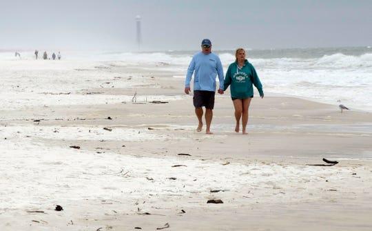 Navarre Beach is not anticipating huge crowds for spring break.