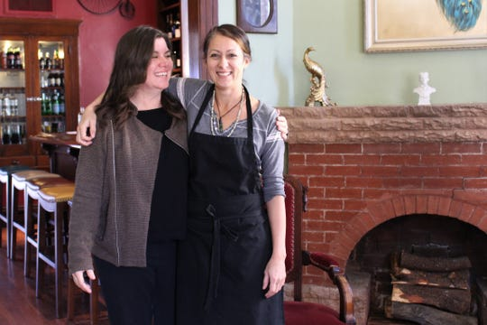 Lori Hassler and Sarah Gilbert of Farish House in the Roosevelt Row neighborhood.