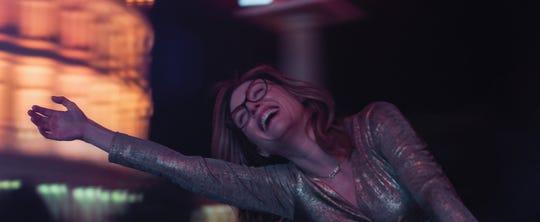 "Gloria Bell (Julianne Moore) has a wild, drunken night in Vegas during ""Gloria Bell."""