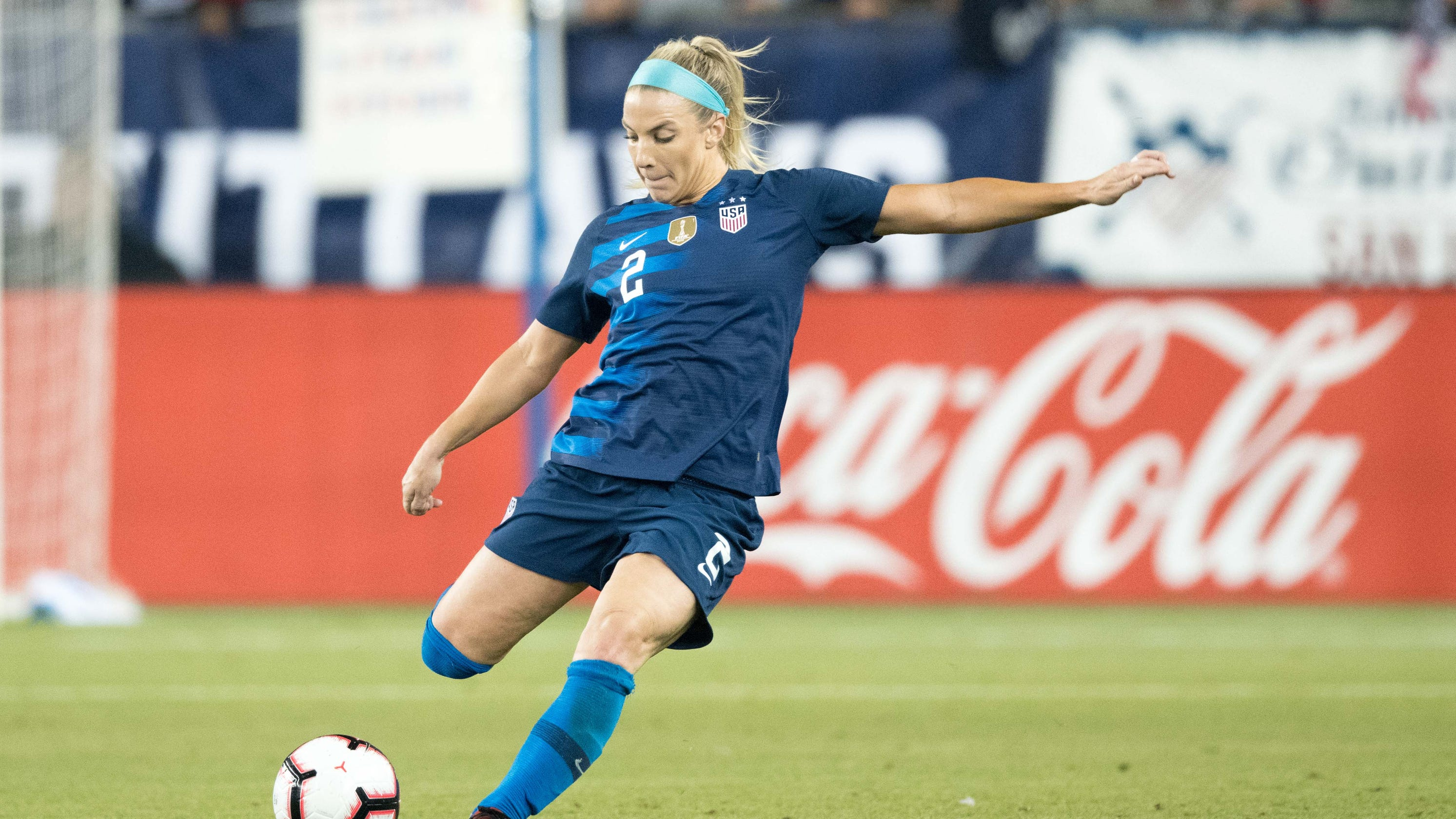 81bad883a33 Beyond belief: Mesa's Julie Ertz gears up to lead USWNT in SheBelieves Cup,  2019 campaign. U.S. women's national team ...