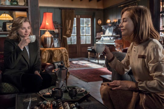 "Chloë Grace Moretz stars as Frances McCullen and Isabelle Huppert as Greta Hideg in ""Greta"""