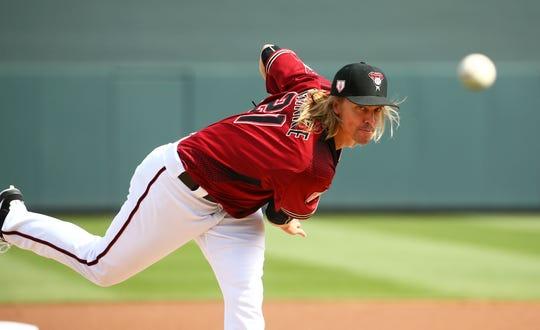 Zack Greinke, lanzador de los D-backs.