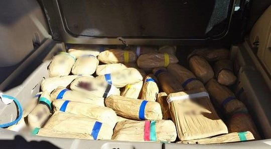 Some of the $6 million worth of drugs seized by Border Patrol on Feb. 23, 2019.