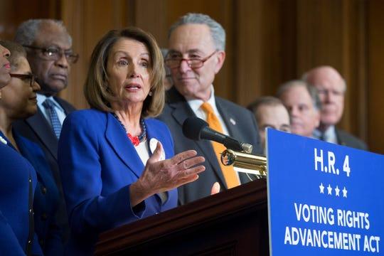 Nancy Pelosi, líder de la mayoría demócrata en la Casa de Representantes.