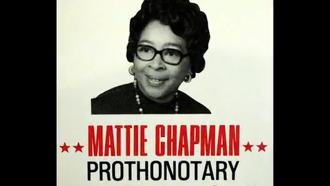 VIDEO: Mattie Chapman honored as first African-American York County employee
