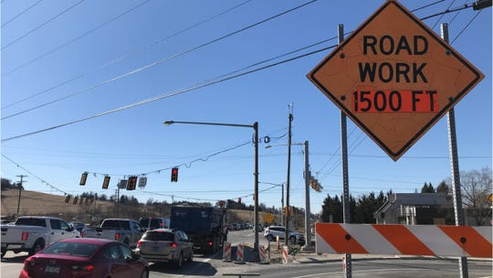 Work continues at I-83 and Mount Rose Avenue.
