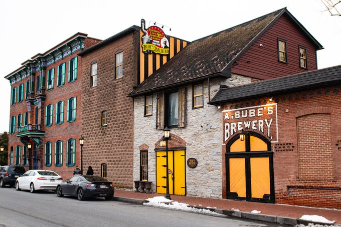 Bube's Brewery, along with the adjacent Victorian Hotel, are undergoing some changes and renovations to preserve their history and expand the amenities that guests can enjoy. Bube's Brewery is located at 102 N. Market St. in Mt. Joy, February 22, 2019.