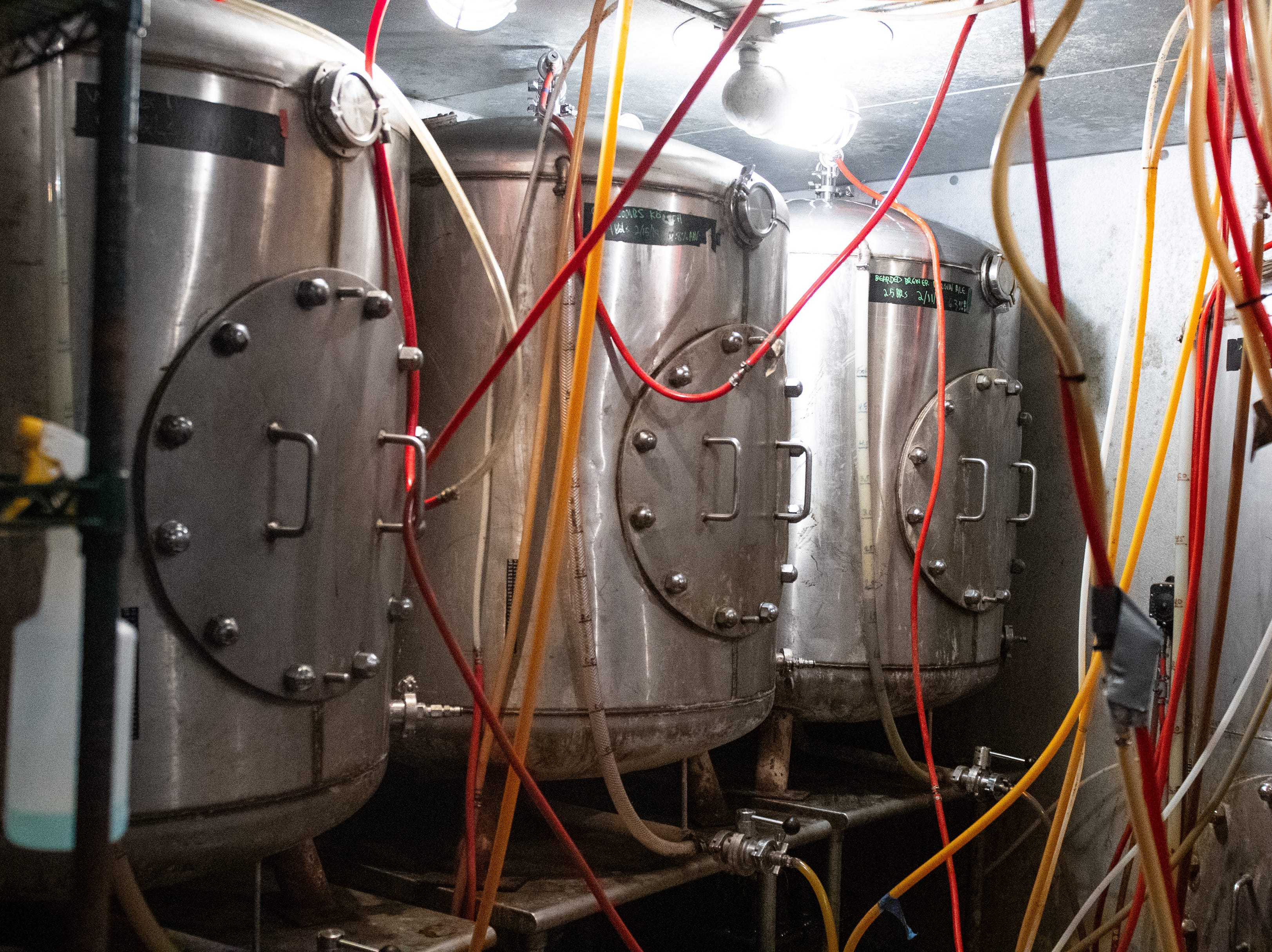 Near the Bottling Works kitchen is the brewery at Bube's. Production was shut down during Prohibition and did not resume until 2001.  February 22, 2019, February 22, 2019.