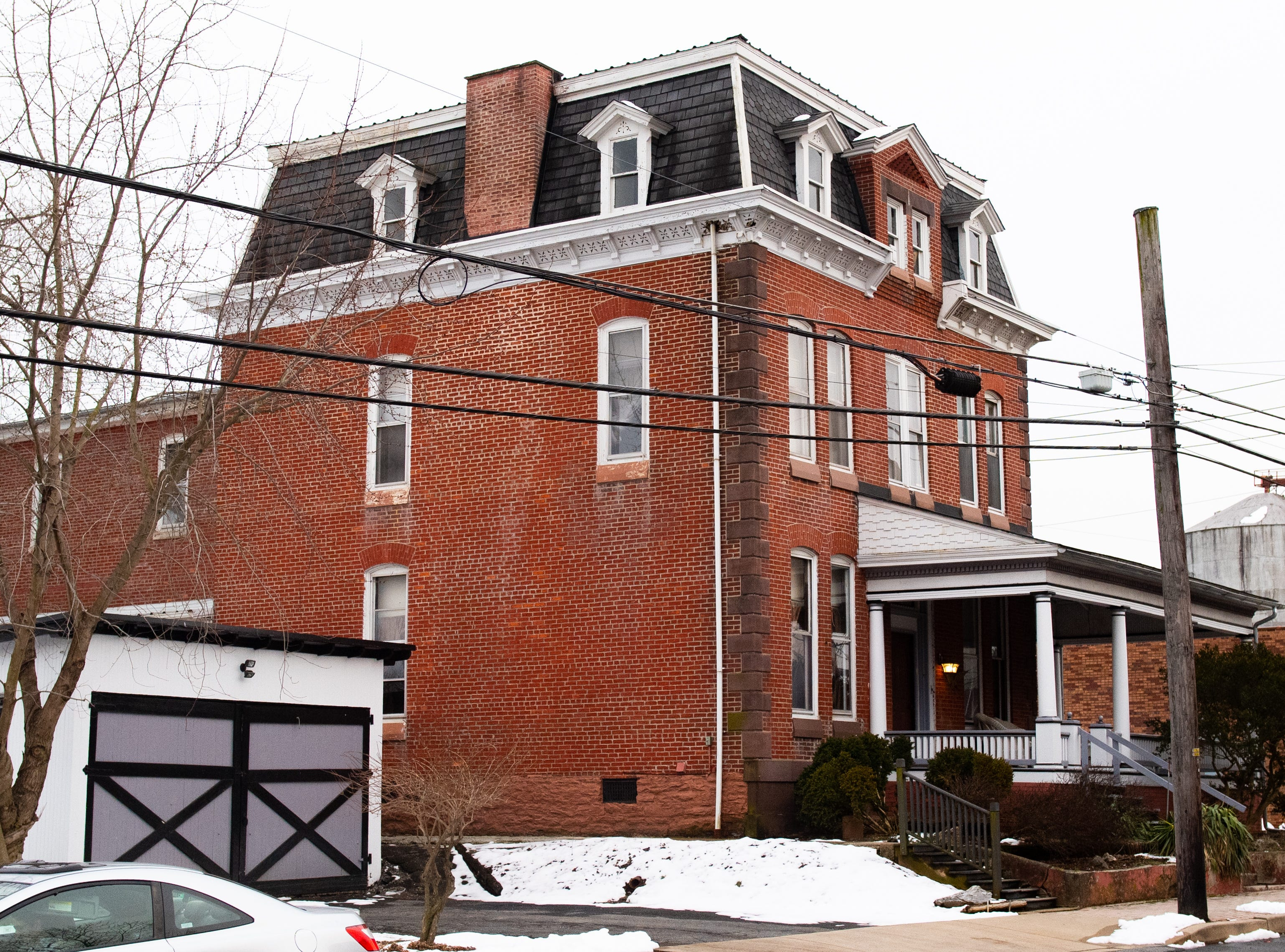 Across the street from Bube's Brewery is the Frank House, another hotel for visitors. The restored mansion has 2 suites with a full bath, living room and kitchen space, February 22, 2019.