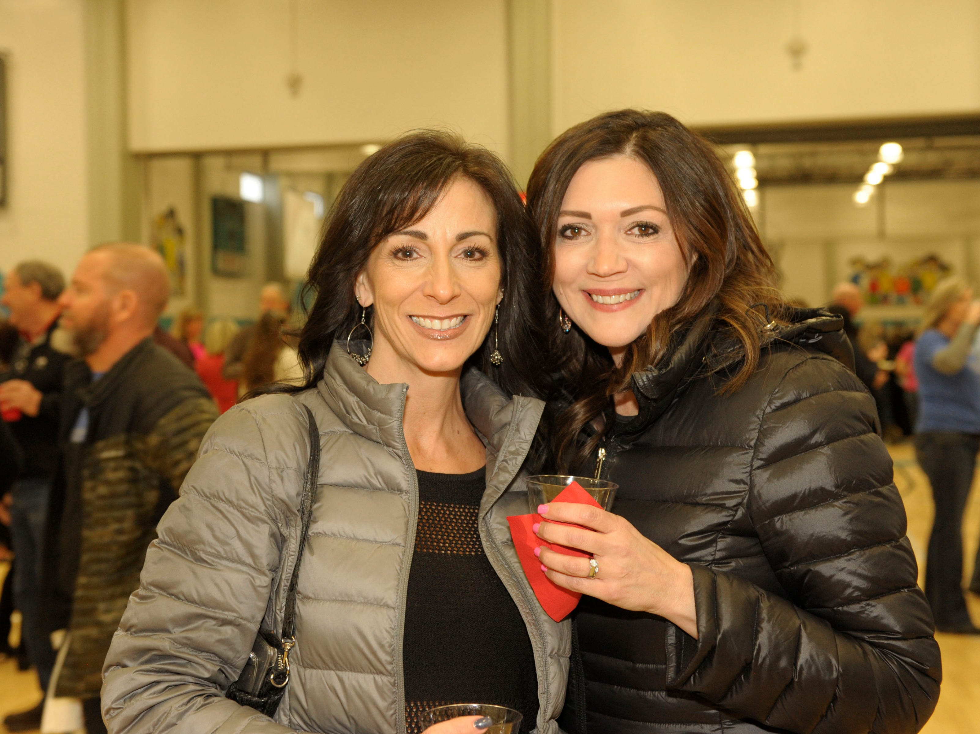 Tawnya Renwick and Zena Kane attend the 39th Annual Jack T. Reviglio Cioppino Feed and Auction at the Boys & Girls Club of Truckee Meadows Sat., Feb. 23, 2019. Photos by Lisa J. Tolda/Special to the RGJ.